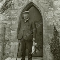 Markenfield Hall, portrait of Mr Robert Foster - HLS05853