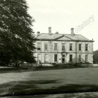 Esholt Hall - the South Front - HLS05786