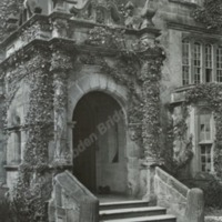 Farnley Hall, the Entrance Porch - HLS05795
