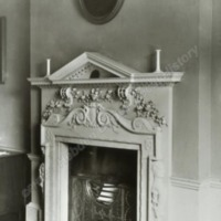 Howsham Hall, Mantelpiece in Bedroom - HLS05912