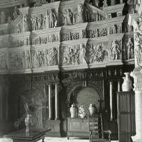 Burton Agnes Hall, the Hall Screen - HLS05718