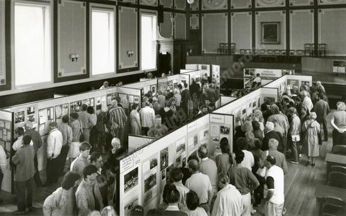 Crowds enjoy the exhibition - MOT00549