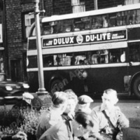 First Bus to carry advertising  - TAS00238