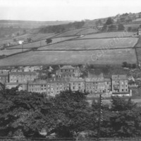 General view of Luddenden Foot  - WAO00262