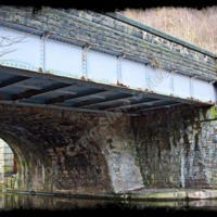 Prince's Bridge over the Canal at Machpelah, Hebden Bridge - CSS00180
