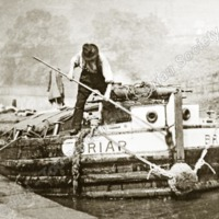 Barge on the Canal - TAS00321