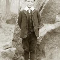 Harry Stell at Big Rock, Scout Woods, Mytholmroyd - RSC00253