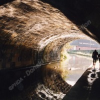 Under the Bridge at Mytholmroyd, known as The Long Tunnel- DBC00131