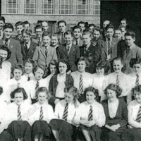 Calder High School, Group Picture - CLA00123