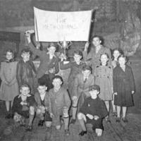 Supporters of Cornholme, 1950s - MCR00153