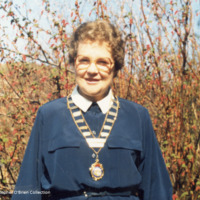 Portrait of Mrs Sheila O'Brien - COC00236
