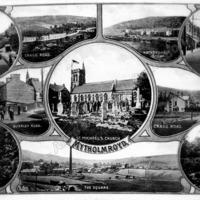 Postcard of Mytholmroyd - ALC09032