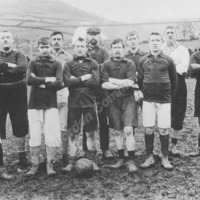 Unknown Team at Ratten Clough, c1904 - TOD00227