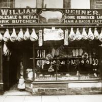 Dehner's Butcher's Shop, Hebden Bridge - RUD00158