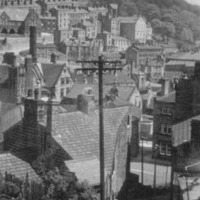 View of Hebden Bridge from The Buttress - BIM00393
