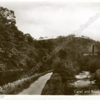 Canal and River at Eastwood - HCC00963