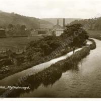 Rochdale Canal at Mytholmroyd - HCC00968