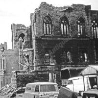Demolition of Bridge Street Methodist Church, Todmorden, 1965 - TAS00465