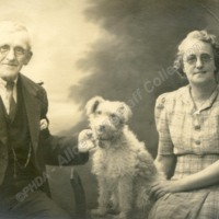 Couple with Dog - ALC02081