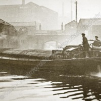 Barge on the Canal - TAS00319