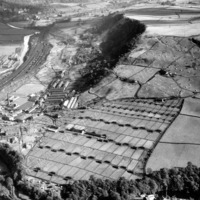 Aerial View of Mytholmroyd - THB00176