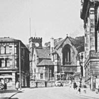 Todmorden Town Hall and St Mary's C hurch - TAS00480
