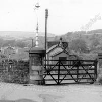 Luddendenfoot Station - Coal Yard. - LYR00190