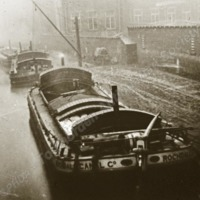 Canal Barges,Todmorden - TAS00323