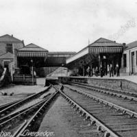 Liversedge Station post 1884/5. - LYR00307