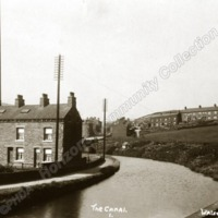 The Rochdale Canal at Walsden - HCC00958