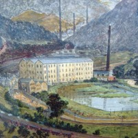 Painting of Callis Mill – CHT00103