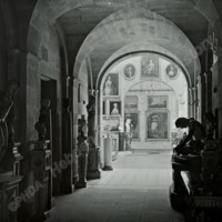 Castle Howard, the Antique Sculpture Gallery - HLS05764