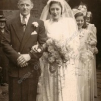 Wedding of Philip Longbottom and Peggy Greenwood - HOL00155