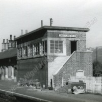 Greetland No. 2 Signal Box, Nr. Halifax. - NGH00113