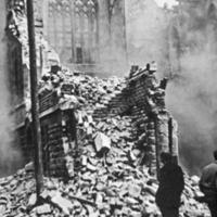 Demolition of Bridge St Methodist Chapel, Todmorden - TAS00477