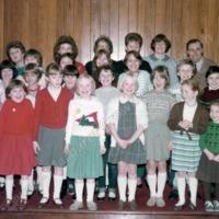 Cornholme Methodist Church Sunday School, August 1985 - MCR00137