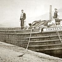 Barge on the Canal - TAS00318