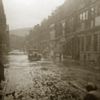 Market Street, Hebden Bridge flood - WAO00297