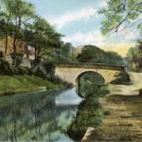 Rochdale Canal at Daisy Bank, Sowerby Bridge - HCC00972