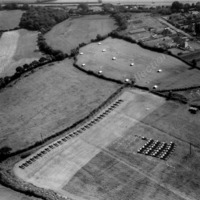 Aerial View of Rearing Pens - THB00195