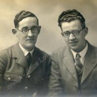 Two Men, one in Uniform - ALC02109