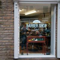 Zinnia Barber Shop, Albert Street, Hebden Bridge, 2013 - MBC00148