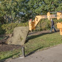 Relocating a Memorial Stone at White Lee, Mytholmroyd - ALV00115