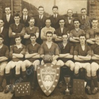 Wadsworth United Football Team and Officials, 1926/26 Season - CVH00218