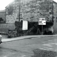 Gable end of the White Swan, Bridge Gate - BIM00394