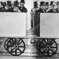 Drawing of Third Class Carriage Todmorden - TAS001073
