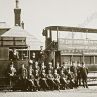 The Last Steam Tram from Rochdale, 8th May 1905 - TAS00252