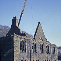Demolition of Mount Zion Sunday School, Todmorden. - TAS00461