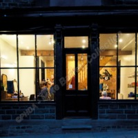 Hairdresser's, Hope Street, Hebden Bridge, 2013 - MBC00137