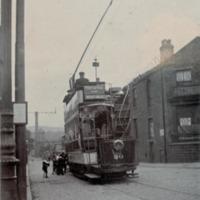 Tram no 30 at West Vale - DPC00597